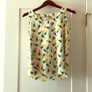Pineapple top!